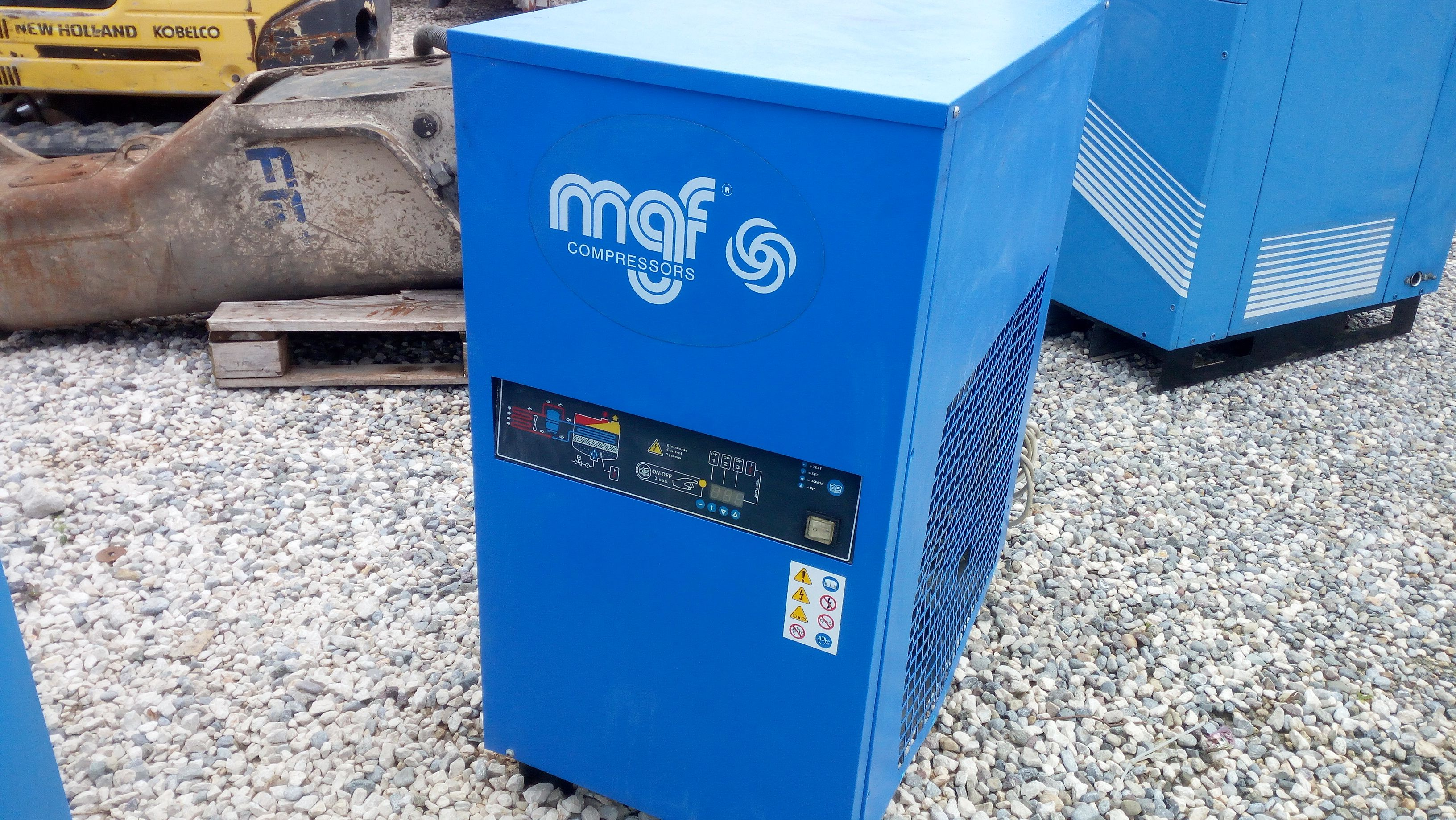 Used MGF Compressor | Remarketing Machine